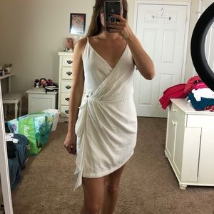 NWOT Free People Wrap Mini Dress
